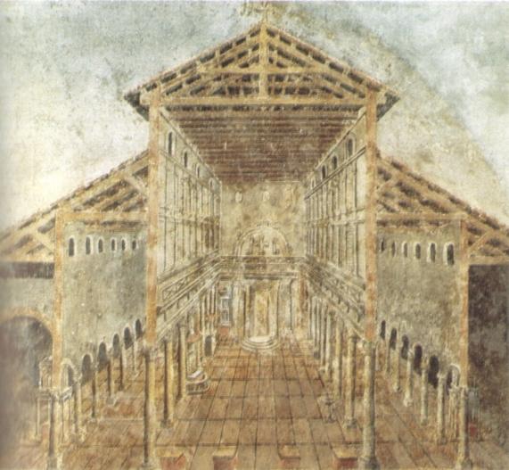 Affresco_dell'aspetto_antico_della_basilica_costantiniana_di_san_pietro_nel_IV_secolo.jpg