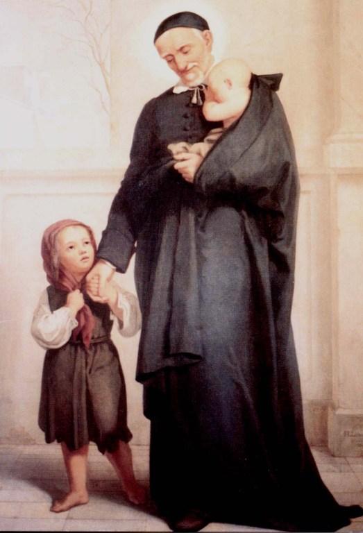 Germany, Hildesheim, Vincent de Paul and children.jpg